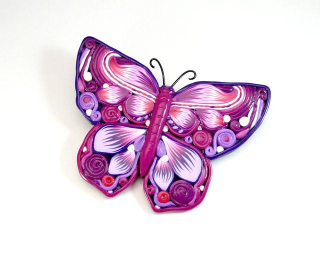 Papillon vole l 39 atelier de jancydol - Papillon image dessin ...