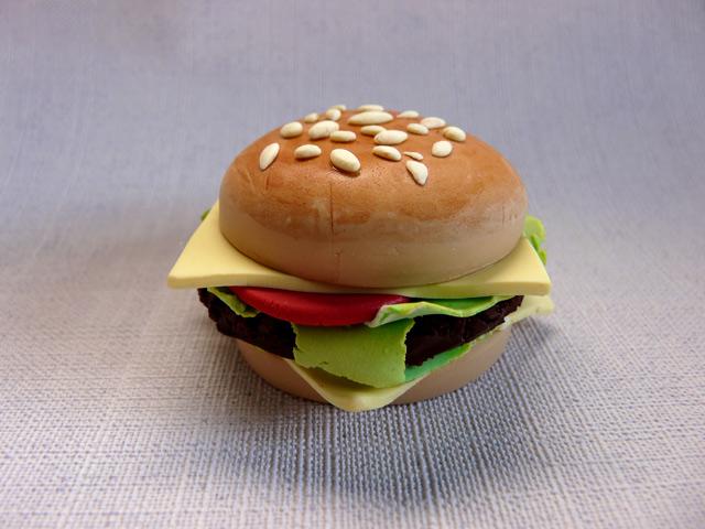Tuto fimo hamburger